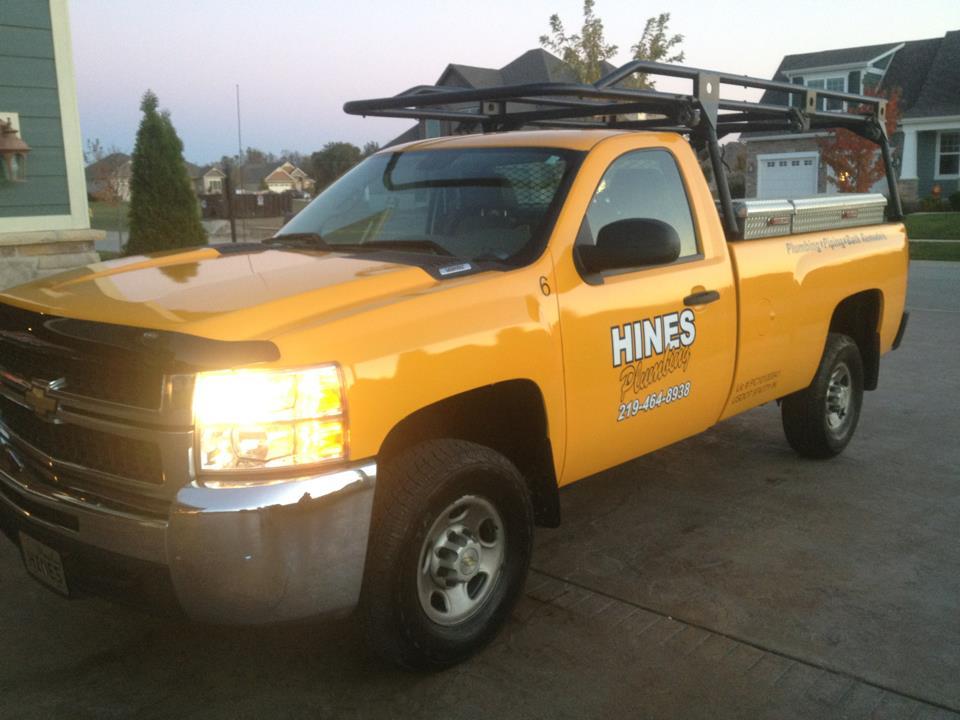 Hines Plumbing truck