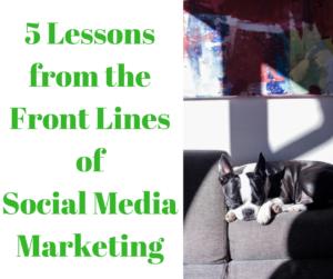 5 lessons of social media marketing