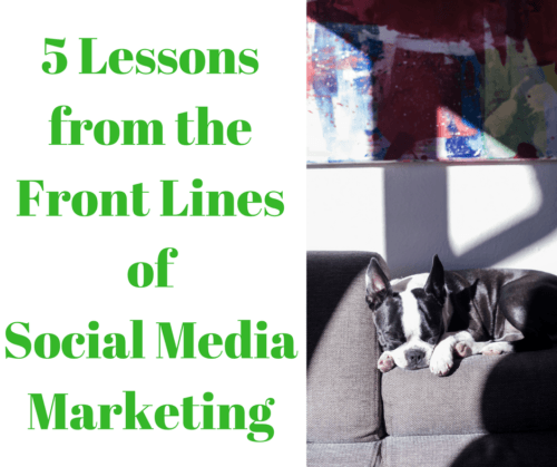 5 lessons of social media marketing