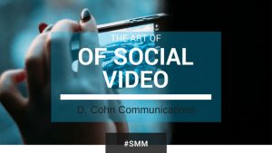 The art of social video
