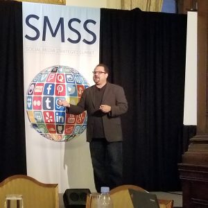 Bryan Kramer at the Social Media Strategies Summit