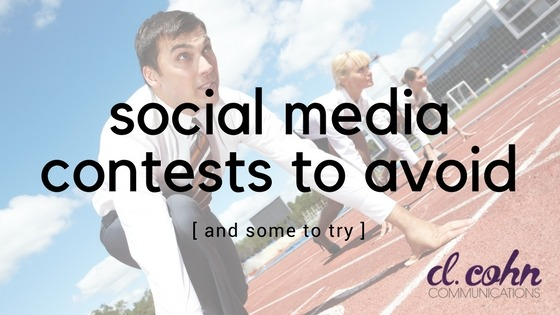 social media contests to avoid